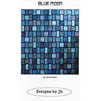 Blue Moon, Designs by jb, DIY Quilt Pattern
