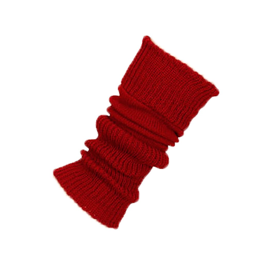 Starlite 38cm Red Leg Warmers - No Stirrup