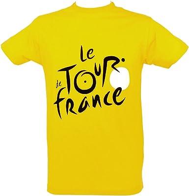 TOUR DE FRANCE YELLOW JERSEY MENS T-SHIRT