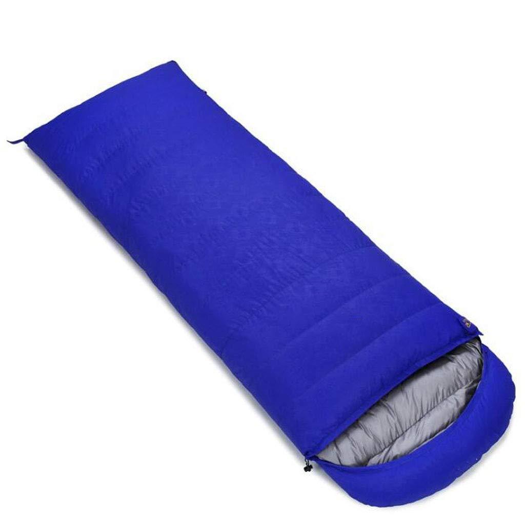 JSHFD Daunenschlafsack, Vier Jahreszeiten Erwachsener im Freien kampierender Umschlagschlafsack, doppelter Schlafsack B07N2F4H1Y Deckenschlafscke Karamell, sanft