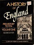 A History of England, Clayton Roberts and David Roberts, 0133899667