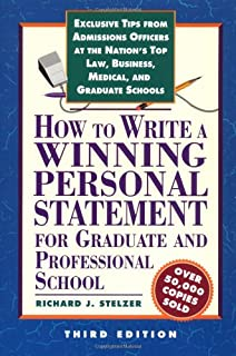 How to write a business personal statement