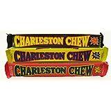 Charleston Chew Chewy Nougat Candy 3 Flavor 9 Bar Variety Bundle: (3) Vanilla Charleston Chew Candy Bars, (3) Chocolate Charleston Chew Candy Bars, and (3) Strawberry Charleston Chew Candy Bars, 1.87 Oz. Ea. (9 Bars Total)