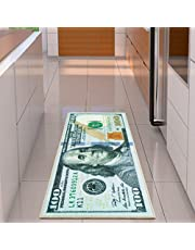 """Ottomanson Hundred Dollar Bill Runner Rug, 22"""" x 53', Multicolor"""