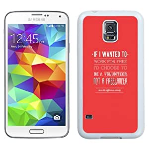 Easy use Cell Phone Case Design with Freelancing Work For Free Galaxy S5 Wallpaper in White
