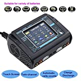 #9: Innovateking HTRC T240 LiPo Charger AC/DC 150W/240W Duo Dual Balance Charger AC DC for LiPo LiHV LiIon Life NiCd NiMh Pb RC Battery Built-in Power Supply