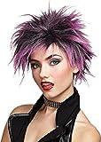 Morris Costumes Wig Pink Punker Chick