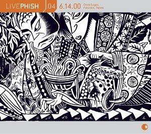 Live Phish Vol. 4: 6/14/00, Drum Logos, Fukuoka, Japan by Elektra / Wea
