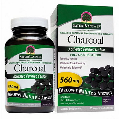 Nature'S Answer Charcoal Activated 90 Sgel