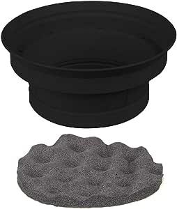 Install Bay - 2 Piece Speaker Baffle Kit 6.5 Inch - Pkg/Pair (IBSBF65), Acoustic Baffles