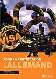 Visa pour la certification d'Allemand