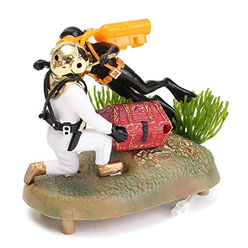 Figurine Ornaments - Modern Frogman Diver And Treasure for sale  Delivered anywhere in USA