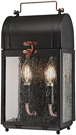 Westinghouse Lighting 6334900 Mulberry Two-Light Outdoor Wall Fixture