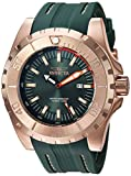Invicta Men's 'Pro Diver' Quartz Stainless Steel and Polyurethane Casual Watch, Color Green (Model: 23731)