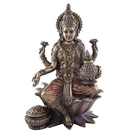 Buy Collectible India Unique Porcelain Goddess Lakshmi Idol