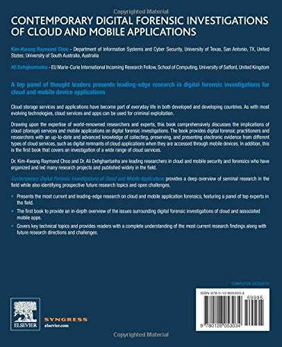 Contemporary Digital Forensic Investigations of Cloud and Mobile