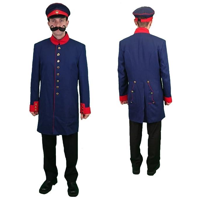 Unbekannt Chaqueta de Uniforme Prusia Abrigo Azul Oscuro, Uniforme ...