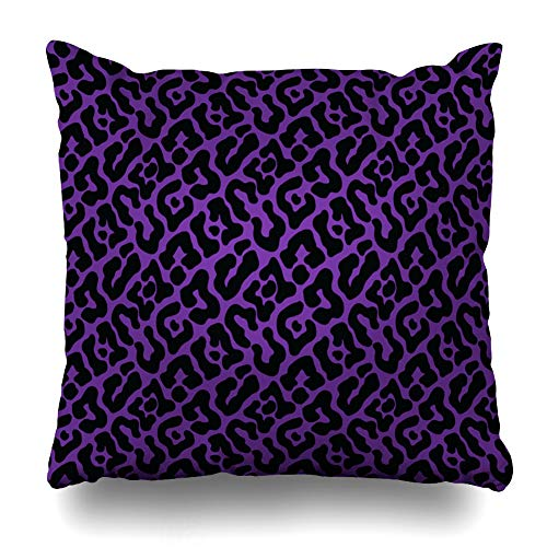 (Kutita Decorative Pillow Covers 20 x 20 inch Throw Pillow Covers, Leopard Pattern Print Wallpaper Background Transparency Pattern Double-Sided Decorative Home Decor Pillowcase)
