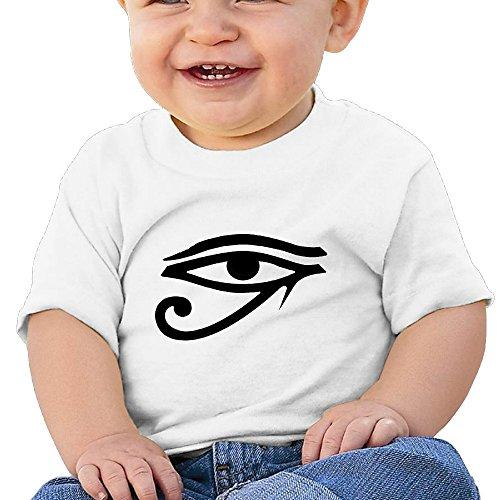 Price comparison product image Kim Lennon Eye Of God Custom Kid Soft T-shirt White Size 6 M