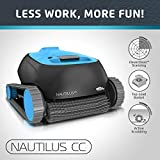 Dolphin Nautilus CC Automatic Robotic Pool Cleaner with Large Capacity Top Load Filter Basket Ideal for In-ground Swimming Pools up to 33 Feet