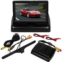 iMounTEK4.3 TFT LCD New Driver Monitor Car Rear View Parking Camera Kit Backup Reverse Safety