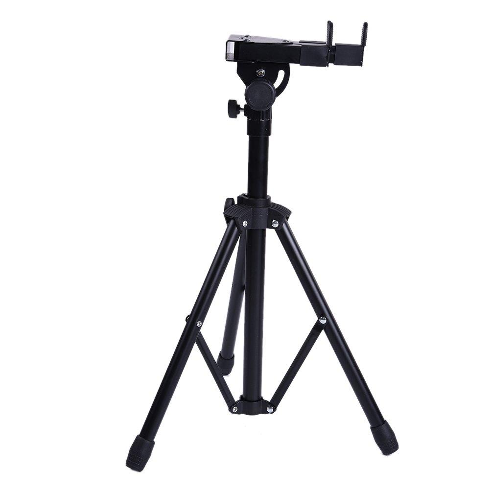 Tilesii Metal Extendable Adjustable Electric Drum Stand Black