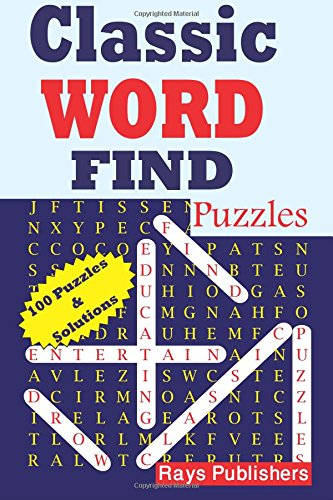 Classic Word Find Puzzles (Volume 1) PDF
