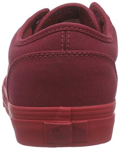 Vans - Atwood, Zapatillas Hombre Rojo (check Liner/burgundy/red)