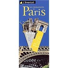ÉVENTAIL DES MONUMENTS DE PARIS