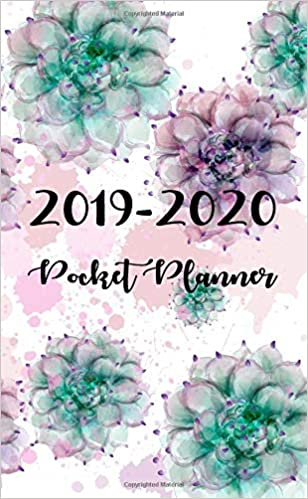 Calendar For Waste Management For December Of 2020 2019 2020 Pocket Planner: Monthly calendar Planner | January