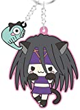 Sanrio X Fullmetal Alchemist Transformation of envy Rubber key holder