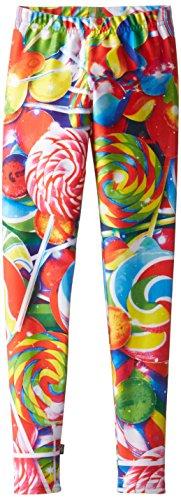 Zara Terez Big Girls' Lollipops Legging, Multi, Medium