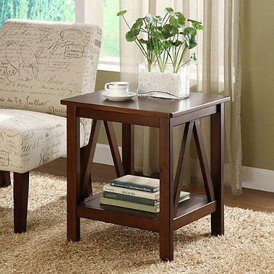 Dylan End Table 50 Lb Antique 22.01u0026quot; H X 20u0026quot; ...