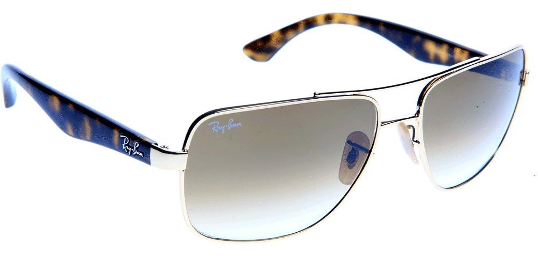 cb9064e15f Mejor Ray-Ban Gafas de sol Para Hombre RB3483-001/51: Oro arista ...