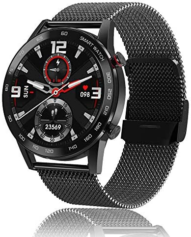 Smart Watch Make/Answer Call,Business Sports Watch for Men Women, Fitness Tracker with Heart Rate Blood Pressure Blood Oxygen Sleep Monitor,IP 68 Waterproof Smart Watch for Android iOS Phones