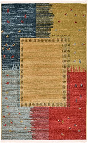 Used, Land of Gabbeh Rugs Modern Contemporary Persian Design for sale  Delivered anywhere in USA