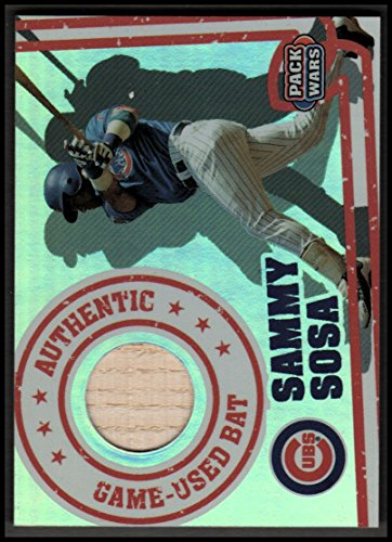(2005 Topps Pack Wars Relics #SS Sammy Sosa Bat Cubs - NM-MT)