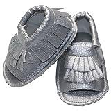 Happy Cherry Infant Baby Mocassins Toddlers Summer Prewalker Soft Sole Anti-slip Tassels Sandals