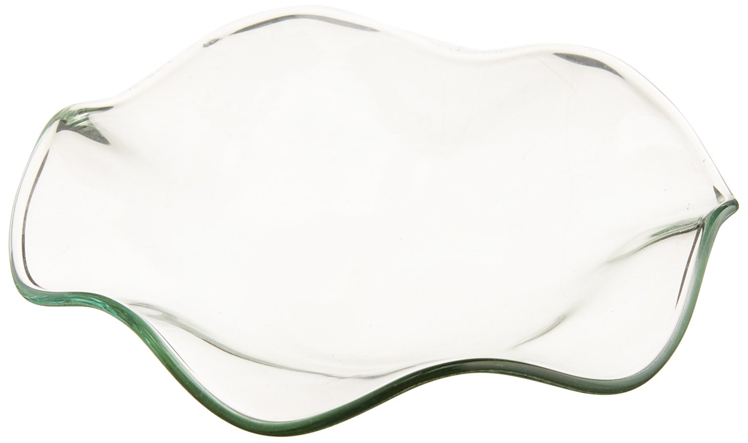 StealStreet SS-GC-MG-DISHS 3.25 Clear Replacement Wave Saucer Dish For Electric Oil Burner