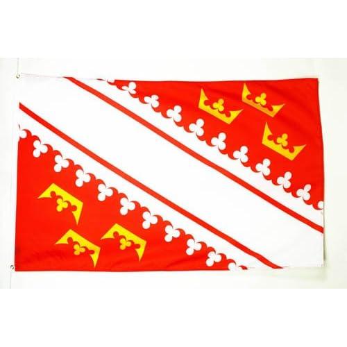 AZ FLAG–DRAPEAU Alsace Drapeau 150x 90cm