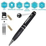 Mini Pen Video Hidden Camera Nanny Video Recorder,BSTCAM 32GB HD 1080P Mini Portable