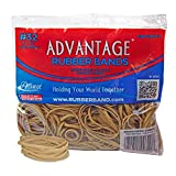 Alliance Rubber 00721 Advantage Rubber Bands Size #32, 1/2 lb Bag Contains Approx. 350 Bands (3'' x 1/8'', Natural Crepe)
