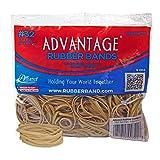 Alliance Rubber 00721 Advantage Rubber Bands Size #32, 1/2 lb Bag Contains Approx. 350 Bands (3'' x 1/8'', Natural Crepe)