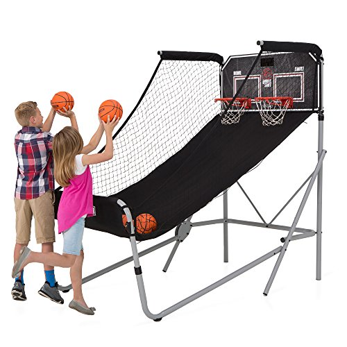 Lifetime 90648 Double Shot Deluxe Basketball Arcade Game - Edge Scoring System
