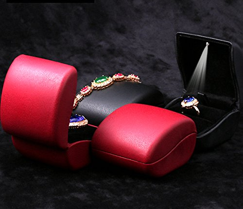 Lily-Treacy-PU-Leather-Ring-BoxCase-with-Lighted-up-for-ProposalEngagementWeddingearringsCoinJewelryGift