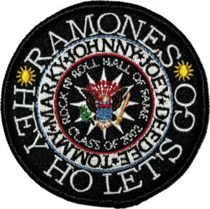 Presidential Patch - The RAMONES Rock 'N Roll Hall OF Fame Presidential Seal PATCH