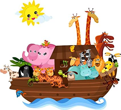 Image result for noah's ark cartoon image