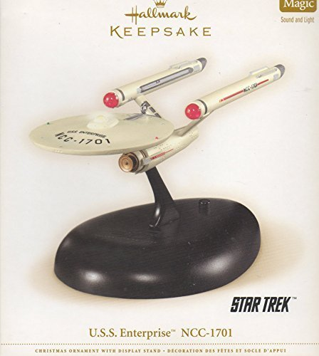 (HALLMARK KEEPSAKE U.S.S. ENTERPRISE NCC-1701 2006 MAGIC SOUND & LIGHT (Boxed))