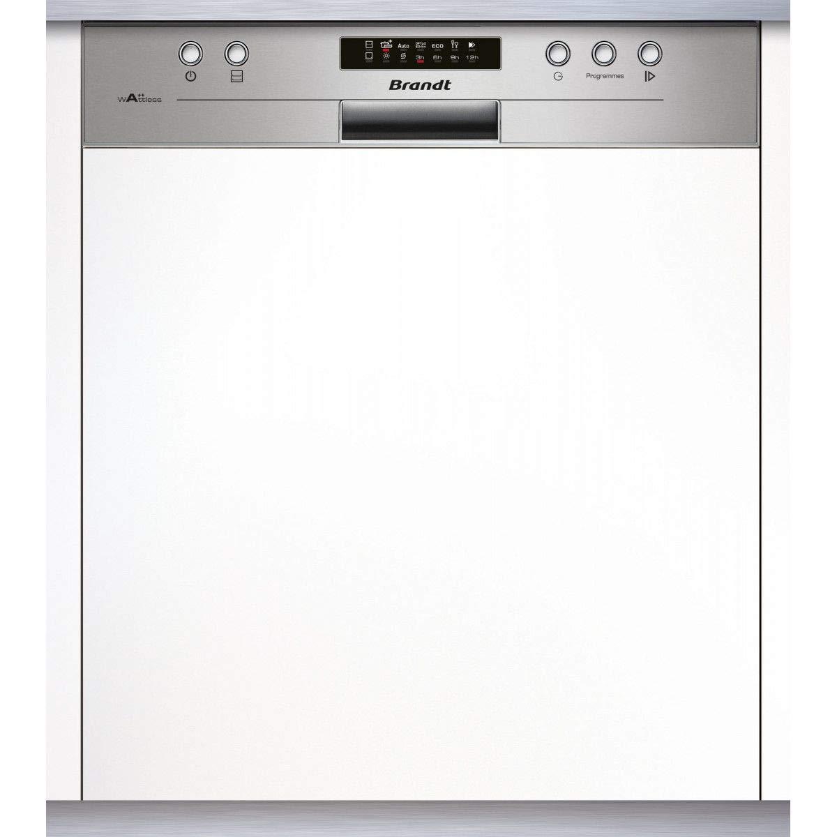 Brandt VH1704X lavavajilla Semi-incorporado 14 cubiertos A++ ...