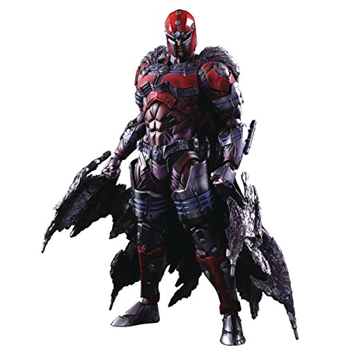 Square Enix Marvel Universe Variant Play Arts Kai: Magneto Action Figure - Square Enix Play Arts